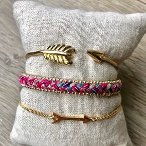 Jewelry - Stella & Dot Arm Party Bracelets (lot)